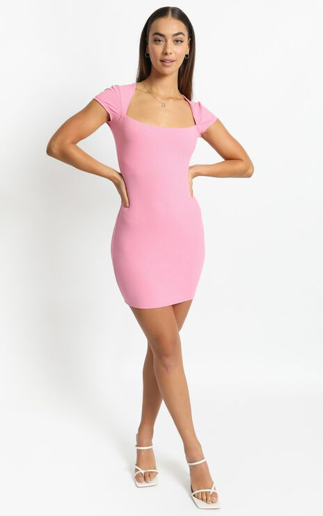 Defying Gravity Dress in Pink