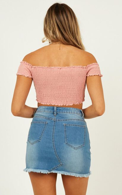Dancing Fields Top in blush - 4 (XXS), Blush, hi-res image number null