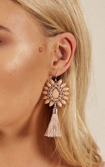 Fire In Me earrings in blush, , hi-res image number null
