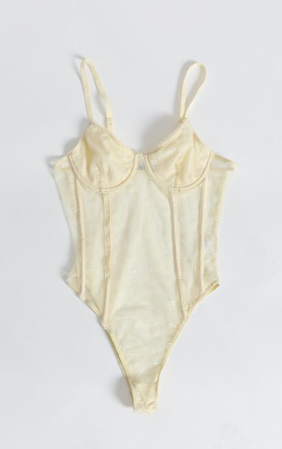 Your Essence Bodysuit in yellow - 12 (L), Yellow, hi-res image number null
