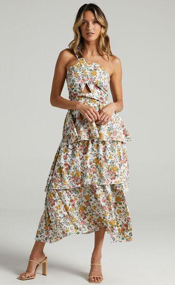 Caro Dress in Multi Floral