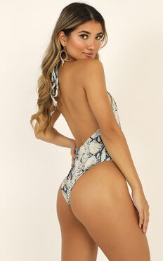 Lioness - Cindy One Piece In Snake Print