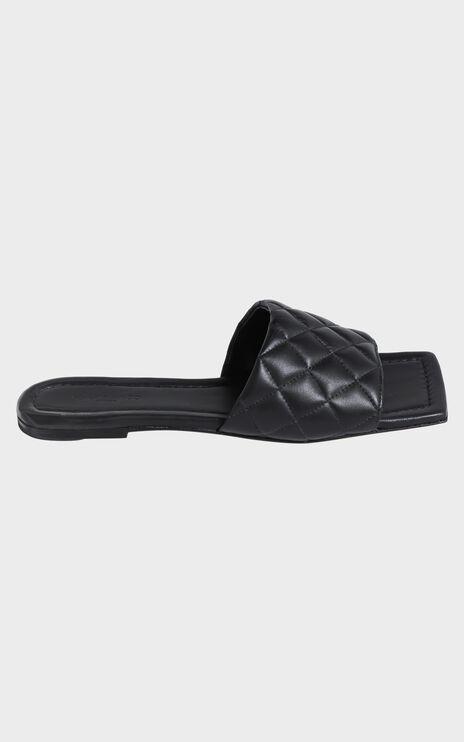 Tony Bianco - Geena Sandals in Black Sheep Napa