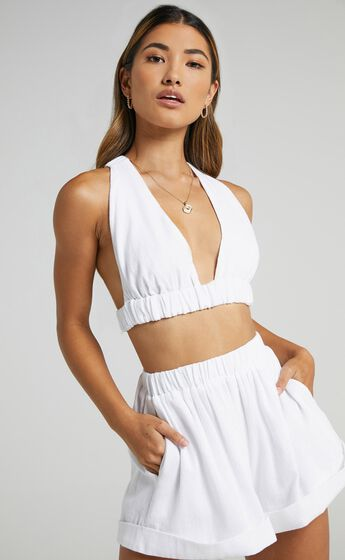 Orcus Two PIece Set in White