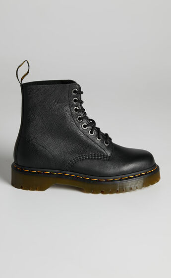 Dr. Martens - 1460 Pascal Bex 8 Eye Boots in Black Pisa