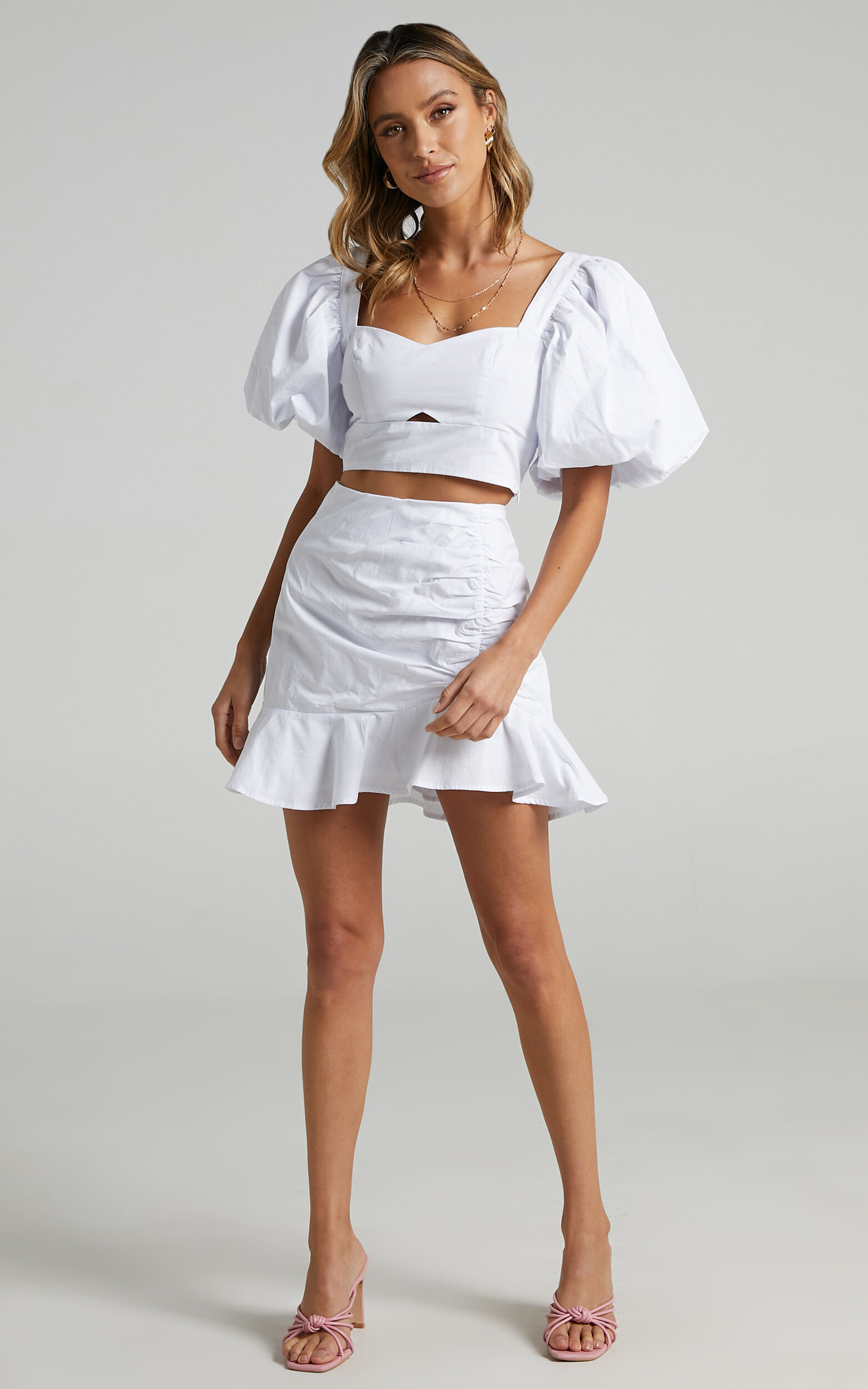 Astarte Two Piece Set in White - 06, WHT4, super-hi-res image number null