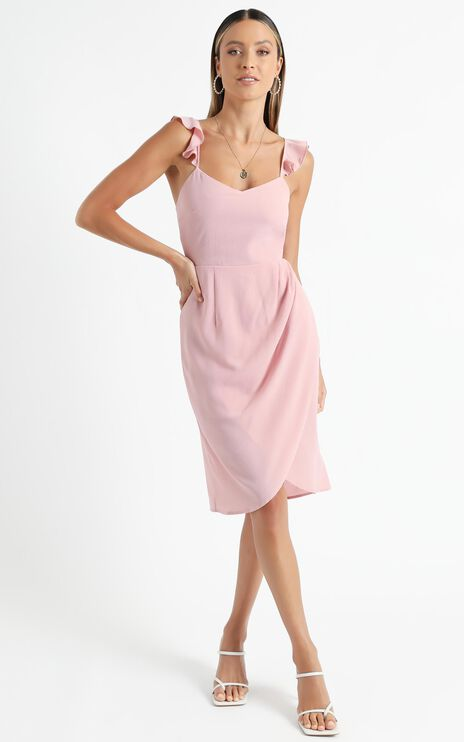 Sangria Dress in Blush