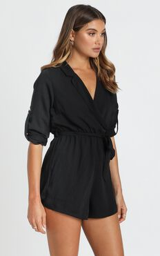 Payton Playsuit In Black