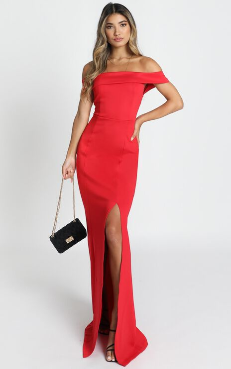 We Got This Feeling Dress In Red