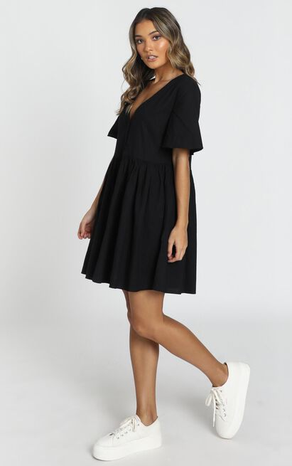 Staycation Dress in black - 20 (XXXXL), Black, hi-res image number null