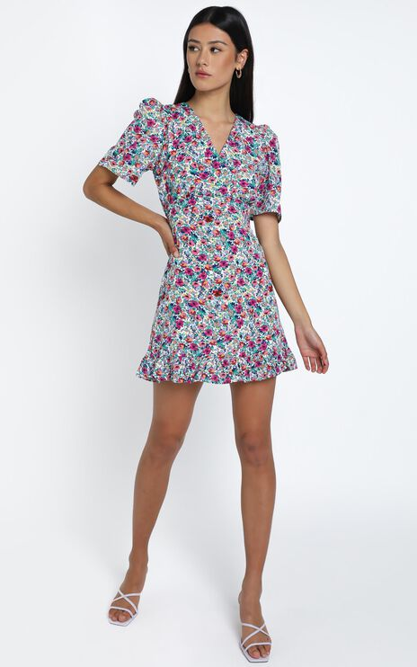 Finlay Dress in Multi Floral
