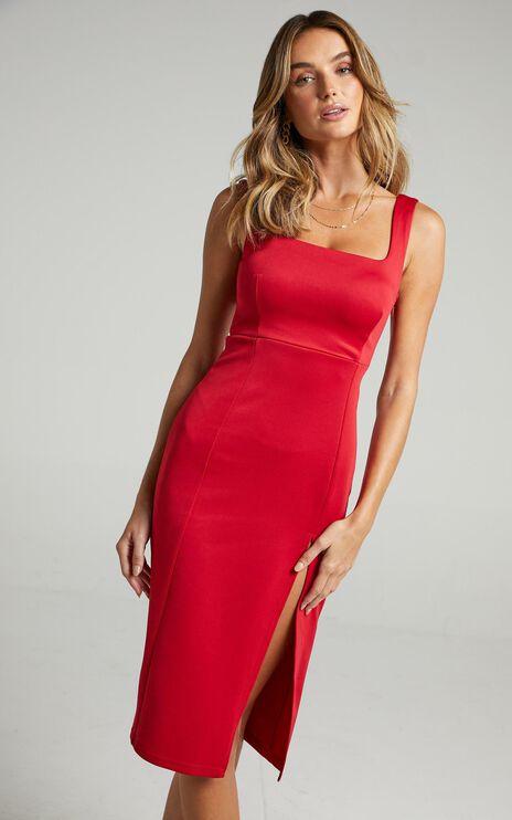 Mini Love Dress in Red