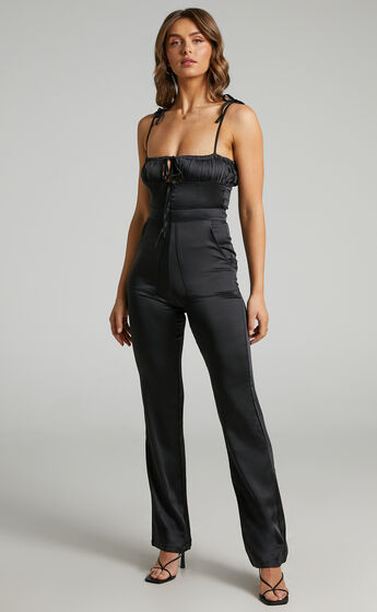 Danielle Bernstein - Pull On Jumpsuit in Black