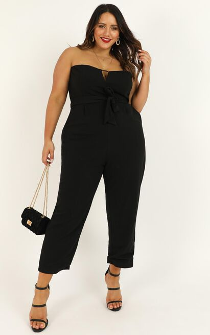 Walk Of Faith Jumpsuit in black - 20 (XXXXL), Black, hi-res image number null
