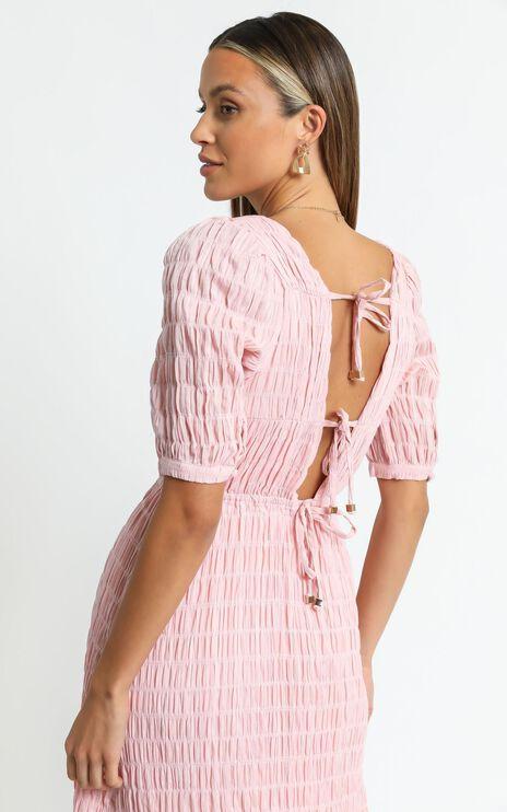 Marfa Dress in Blush