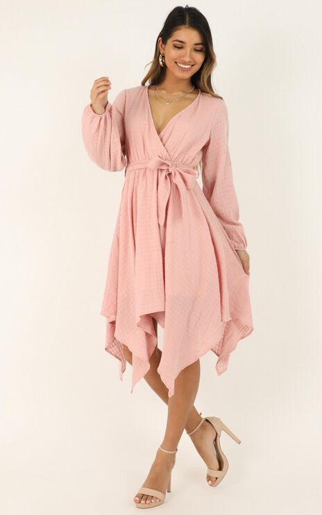 Paradise Dreamer Dress In Blush