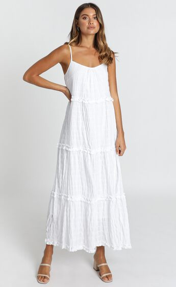 Coastal Breeze Dress in White