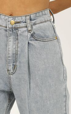 Sidnee Jeans In Light Blue Denim
