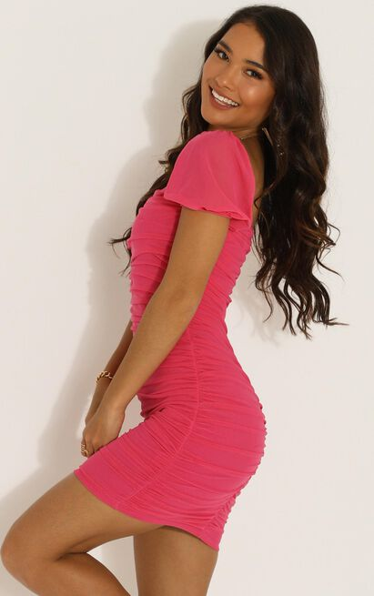 Im All Yours Dress in hot pink - 16 (XXL), Pink, hi-res image number null