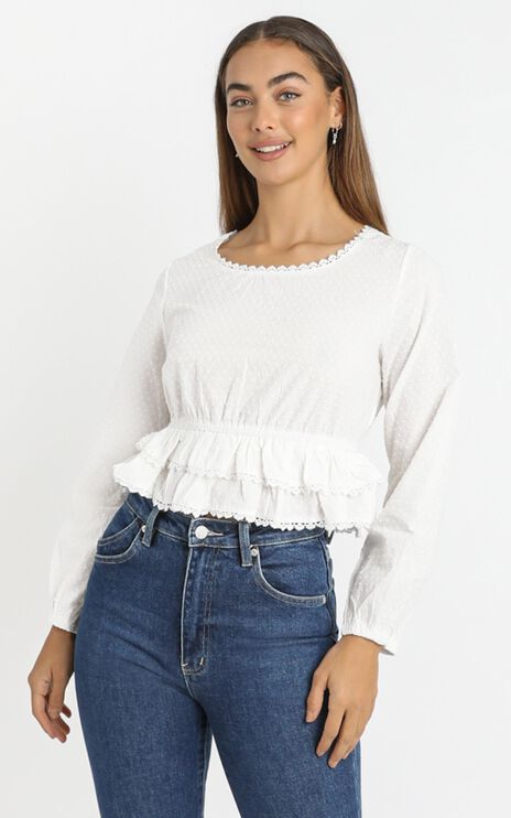 Maire Top in White