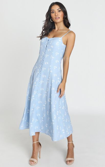 Say It Right Dress in blue - 8 (S), Blue, hi-res image number null