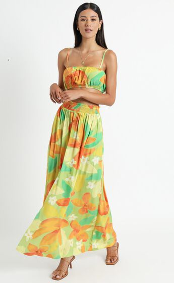 Kauai Two Piece Set in Tropical Floral