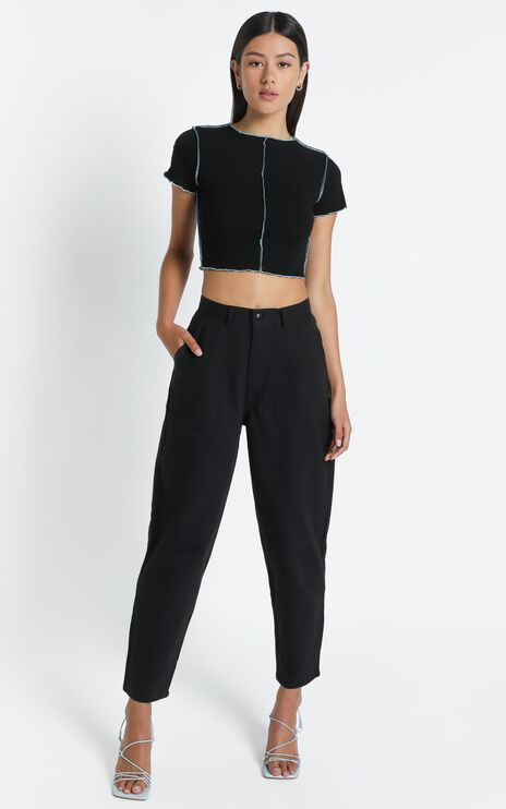 Alford Top in Black