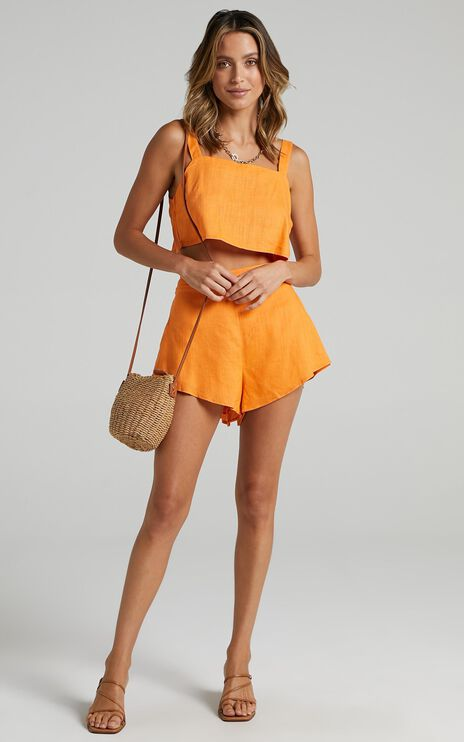 Save The Light Two Piece Set in Orange