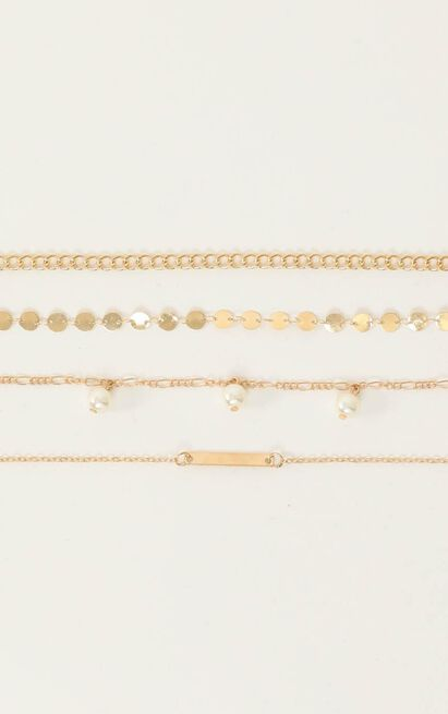 Still The One Bracelet Set In Gold, , hi-res image number null