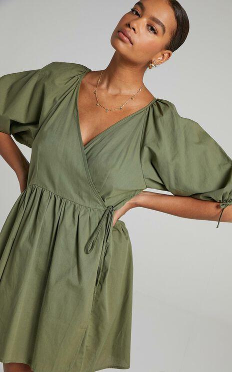 Veronnie Dress in Khaki