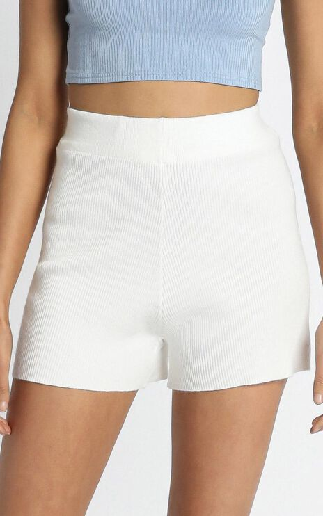 Delmara Shorts in White