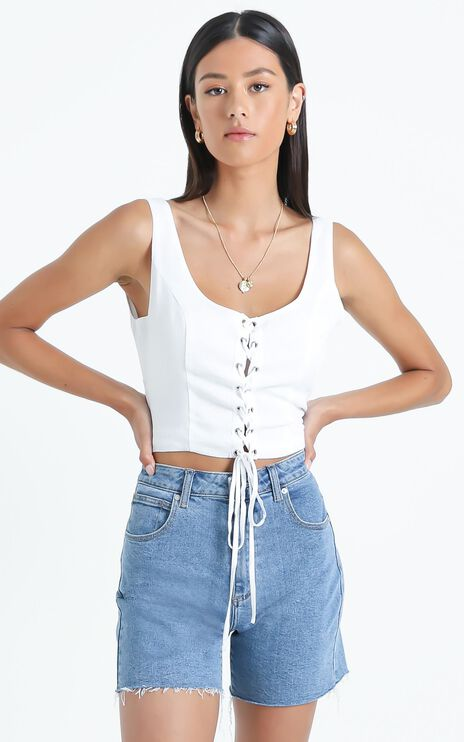 Hovis Top in White