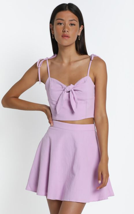 Pei Skirt in Lilac