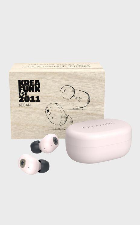 Kreafunk - aBean Headphones in Dusty Pink