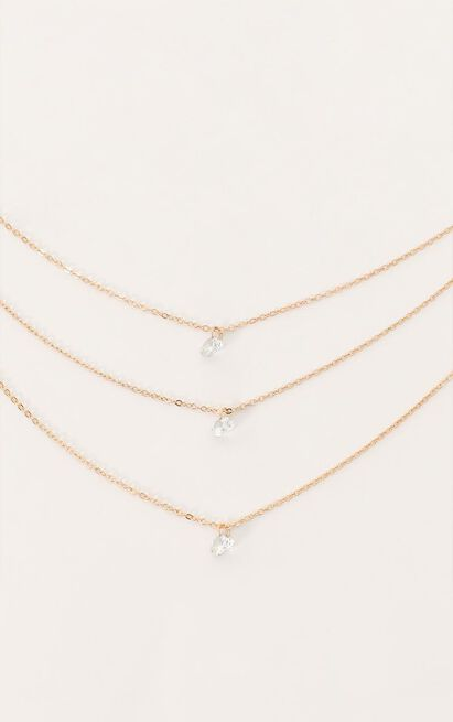 Hold Your Own Necklace In Gold, , hi-res image number null