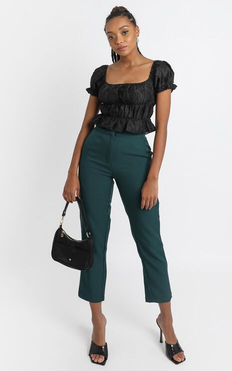 Gabrielle Pants in Emerald