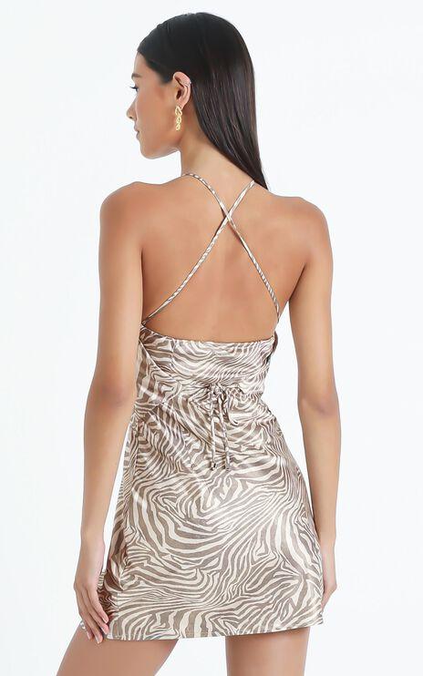 Odine Dress in Zebra