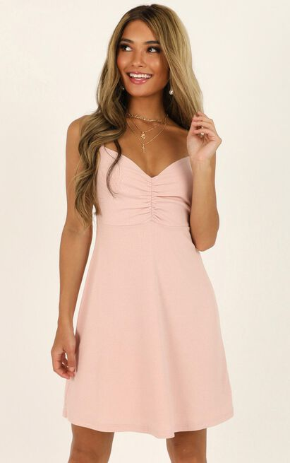 Master Lesson dress in blush - 20 (XXXXL), Blush, hi-res image number null
