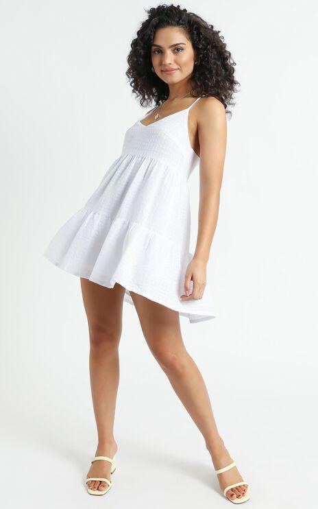 Salina Dress in White