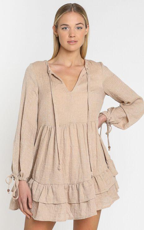 Carys Dress in Mocha