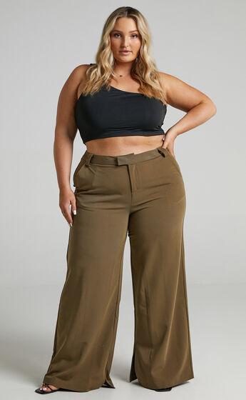 Sabra Pants in Olive