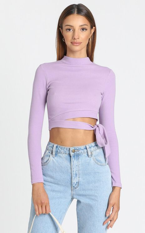 Young Hearts Top In Lilac