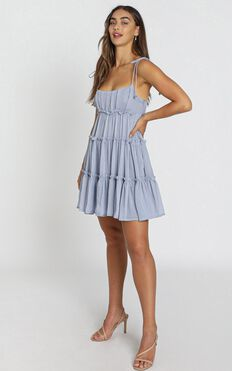 Kasey Dress in Blue