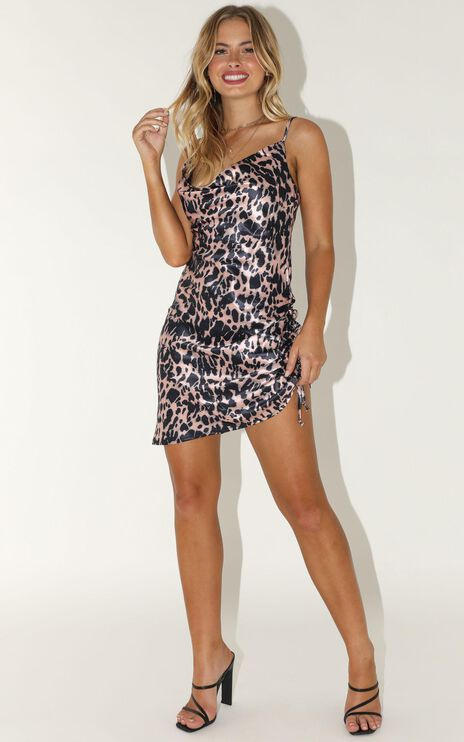 A Serious Situation Dress In Leopard Print