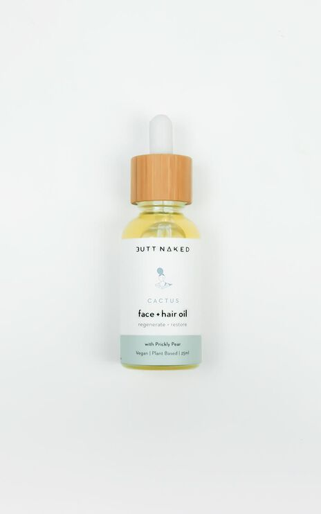 Butt Naked - Cactus Face + Hair Oil 25ml