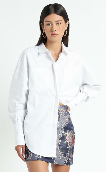 The Carrie Top in White