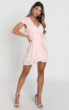 Sweet Nothings Dress in Blush