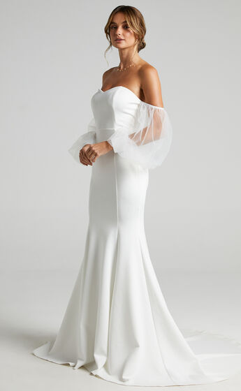 My Whole Heart Gown in White