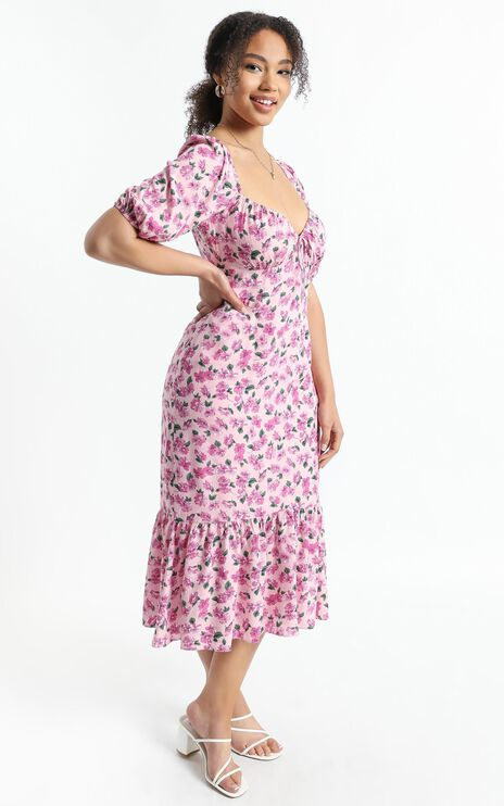Willow Dress in Lilac Floral