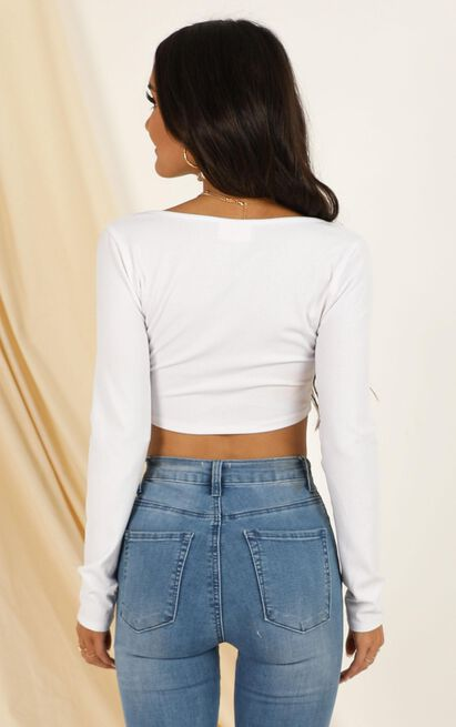 Its Personal Top in white - 20 (XXXXL), White, hi-res image number null